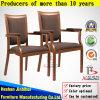 模倣された木のArmrestのレストランの椅子(BH-FM8039A)