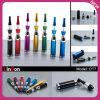 Cigarrillo de aluminio de la MOD E del tubo de la batería del vario color con el atomizador Dt7 de la forma del florero