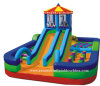 Grosse Outdoor Slide Playground Inflatable Fun Stadt für Children