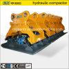 Compressor hidráulico da placa da vibração da máquina escavadora para a fundação que Punning