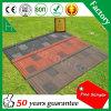 Campione libero 50 anni della garanzia della pietra di mattonelle di tetto d'acciaio rivestite