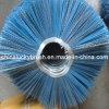El color azul dobló el cepillo del barrendero de camino del círculo (YY-118)