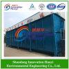 Unità sotterranea di trattamento di acque luride per l'acqua di scarico di riutilizzazione