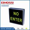 Signe  en service  de Sign&&Rdquor de porte lumineux par méthode de commutateur de DEL