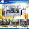 Polpa/Granule Beverage Juice 4 em 1 Bottling Filling Machinery