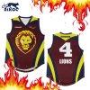 Qualitäts-voll sublimierte Basketball-Hemden