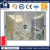 Doppelverglasung-Innenaluminium, das Pation Glas-Türen schiebt