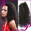 Kinky человеческие волосы Wigs Curly Afro для чернокожих женщин (HL11322)