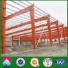 Taller de la estructura de acero del edificio industrial