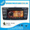 Androide 4.0 Car Multimedia para Skoda Octavia 2007-2009 con la zona Pop 3G/WiFi BT 20 Disc Playing del chipset 3 del GPS A8