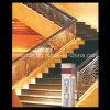 Pasamano de aluminio de la escalera de interior de lujo decorativa del chalet