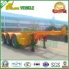 Container Transport Chassis 40 Footer Truck Semi-Trailer