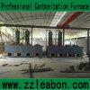 Das Steinkohlenbrikett beenden, das Zeile mit karbonisierenprozeß und Trockner bildet