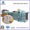 Máquina horizontal auto de residuos de reciclaje de papel que afianza