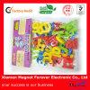 Aimant en plastique de réfrigérateur de vente d'alphabet d'enfants chauds de Digitals DIY