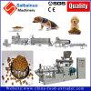 Cadena de producción de la pelotilla de la comida para gatos que hace la máquina