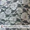 Tissu en ivoire de lacet de coton à acheter (M3009)