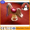 Étage durable en caoutchouc de cour de jeu de forme physique de gymnastique