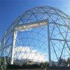 Nuovo contenitore prefabbricato di vetro sviluppato della Camera, struttura d'acciaio Domehouse