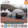 Kleines transparentes halber Bereich-Geodäsiezelt für Sportveranstaltung-Ausstellungsraum