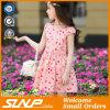 Qualitäts-Mädchen-Blumen kleiden Sleeveless Kind-Kostüm
