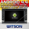 日産Navara (W2-A9900N)のためのWitson Android 4.4 System Car DVD