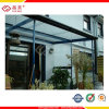 PC duro Sheet Hollow Polycarbonate Sheet de Coating para Canopies