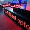 P10 im Freien einzelne rote Farbe LED, die bewegliches Zeichen bekanntmacht