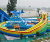 2014 Popupar Inflatable Toys Inflatable Moving Water Park