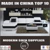 [أو] شكل جلد أريكة يعيش غرزة أثاث لازم يجعل في الصين أريكة