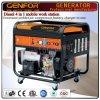 Diesel 4 de GF11-Dawa en 1 máquina móvil del trabajo para el generador, el soldador, el cargador de batería y el compresor de aire