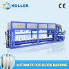 Koller 5 van de Commerciële Automatische van het Ijs Ton Machine van het Blok voor de Staaf van het Ijs