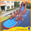 子供および大人(AQ1525)のために膨脹可能な屋外の楽しいゲーム長い水スライド