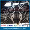 316 precio inoxidable decorativo de la hoja de acero de la aguafuerte 0.8m m