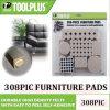 Kundenspezifische Filz-Möbel-Auflagen des Fußboden-308PCS schützende