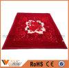 Теплое мягкое одеяло Raschel полиэфира двойного слоя печатание цветка толщиное