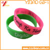 Customized Rubber Wirstband, Pulseira Moda Presentes