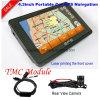 Hot Sale 4.3 Car Truck Marine Navigation GPS avec Wince 6.0 Dual 800 MHz CPU, Transmetteur FM, AV-in pour stationnement Caméra GPS Navigation G-4303