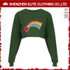 Suéter verde oliva de moda de Hoodie de la suposición del verde del ejército de la manera (ELTCHI-17)
