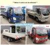 Dieselmotor Foton Aoling 4X2 Vrachtwagen van de Lading van 2 Ton de Lichte voor Verkoop met Goedkope Prijs