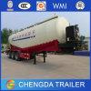 잠비아에 있는 시멘트 Tank Bulk Cement Cargo Semi Trailer