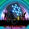 Het verduisteren van 5in1 het Draadloze LEIDENE van het PARI 12X15W Rgabw Licht van de Stroboscoop