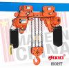 Trois élévateur à chaînes électrique des solutions de rechange 10t avec deux chariots