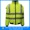 Куртка безопасности американского Workwear огнезамедлительная с отражательными лентами