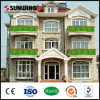 PVC domestico Leaf Fence di New Ideas Nature Plastic Artificial per Balcony