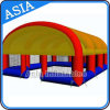 Design caldo Inflatable Shooting Cage Inflatable Paintball Arena per Events Tent