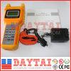 O medidor CATV do nível de sinal do RF da televisão por cabo analisa o medidor nivelado