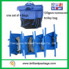120GSM Un Set di Four Bags Nonwoven Trolley Shopping Bag