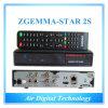 com o receptor DVB-S2 satélite gêmeo original da Zgemma-Estrela 2s da cor preta