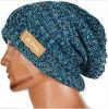 Крышка новой зимы Beanie Knit Slouchy мешковатой Unisex сверхразмерная